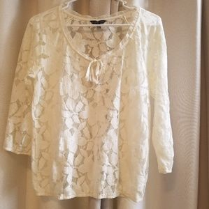 America Eagle Outfitters Lace Top